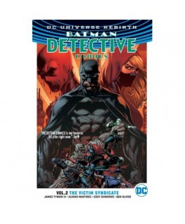 Batman Detective Comics Vol. 2 The Victim Syndicate Rebirth