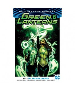Green Lanterns Vol. 2 Phantom Lantern Rebirth