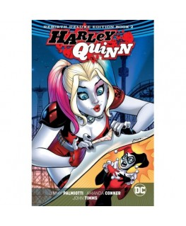 Harley Quinn The Rebirth Deluxe Edition Book 2