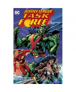 Justice League Task Force Vol. 1 Purification Plague