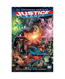 Justice League Vol. 3 Timeless Rebirth