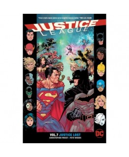 Justice League Vol. 7 Justice Lost