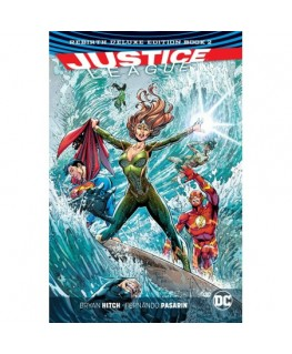 Justice League The Rebirth Deluxe Edition Book 2