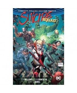 Suicide Squad The Rebirth Deluxe Edition Book 2