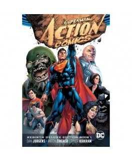 Superman Action Comics The Rebirth Deluxe Edition Book 1 Rebirth
