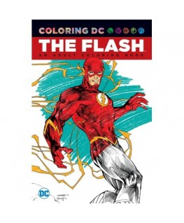 The Flash An Adult Coloring Book
