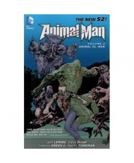 Animal Man Vol 2 Animal Vs. Man