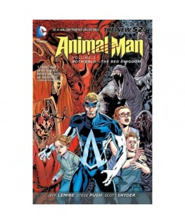 Animal Man Volume 3: Rotworld The Red Kingdom