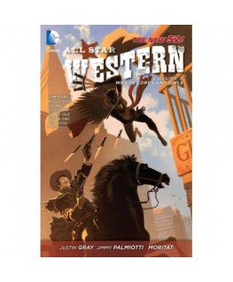 All Star Western Vol. 2: The War of Lords and Owls - The New 52