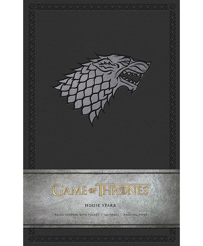 Game of Thrones: House Stark Hardcover Ruled Journal - Insights Journals