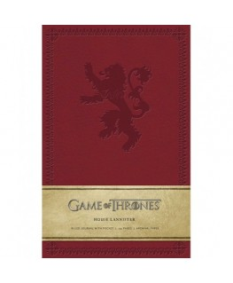 Game of Thrones: House Lannister Hardcover Ruled Journal - Insights Journals