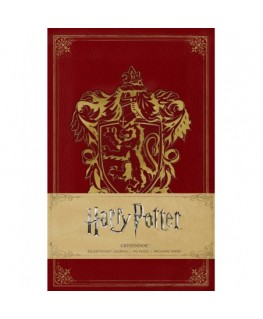 Harry Potter: Gryffindor Ruled Pocket Journal - Insights Journals