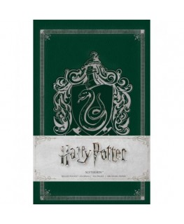 Harry Potter: Slytherin Ruled Pocket Journal- Insights Journals