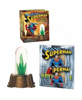 Superman: Glowing Kryptonite and Illustrated Book - RP Minis