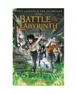 Percy jackson and the olympians. the battle of the labyrinth: the graphic novel