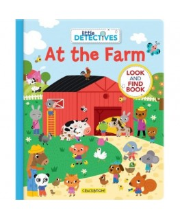 Little Detectives at the Farm: A Look and Find Book