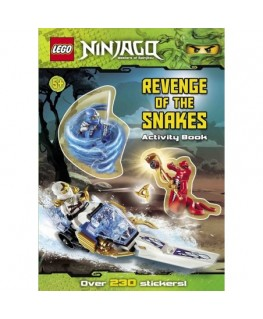 Lego Ninjago: Revenge of the Snakes Sticker Activity