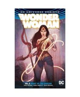 Wonder Woman Volume 5: Heart of the Amazon. Rebirth