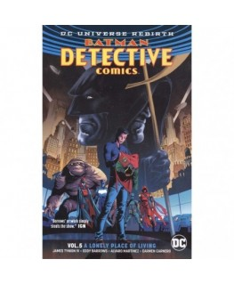 Batman: Detective Comics Vol. 5: Rebirth : A Lonely Place of Living