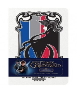 Fantastic Beasts: The Crimes of Grindelwald: Hardcover Ruled Journal