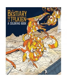 Bestiary of tolkien coloring