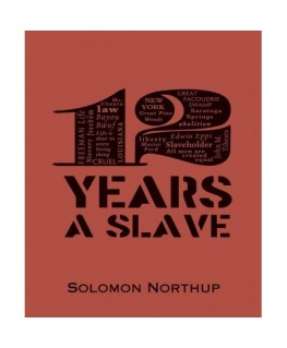 12 years a slave (word cloud classics)