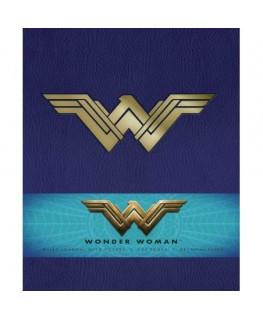 Comic wonder woman hardcover ruled journal