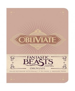 Journal fantastic beasts and where to find them obliviate