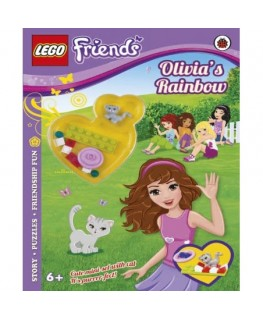 Lego friends olivias rainbow