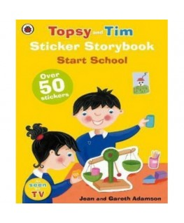 Topsy And Tim Sticker Storybook: Start S