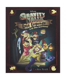 Gravity Falls Lost Legends: 4 All-New Ad