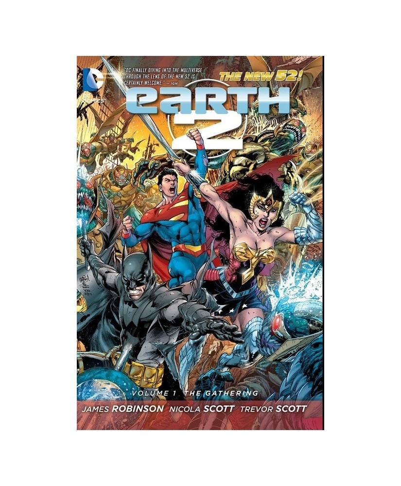 Earth 2 Vol. 1: The Gathering