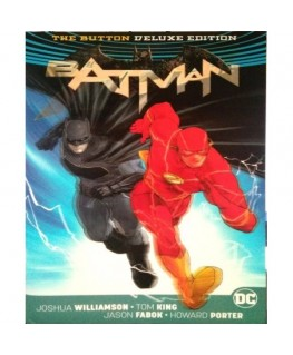 Comic Batman Flash The Button Deluxe Edi