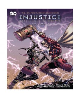 Comic Injustice:Gods Among Us:Year Five Vol.2