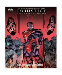 Comic Injustice:Good Among Us:Year Five Vol.1