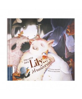 Una carta para Lily... El Unicornio! / A Letter for Lily... The Unicorn! (Mini Albumes) (Spanish Edition)