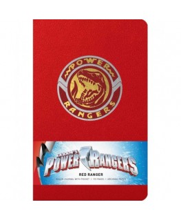 Power Rangers: Red Ranger Hardcover Ruled Journal (Insights Journals)