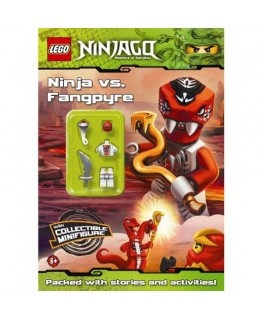 LEGO Ninjago: Ninja vs Fangpyre Activity Book