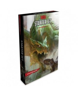 Dungeons & Dragons Starter Set Six Dice Five Ready to Play D&D Characters With Character Sheets a Rulebook and One Adventure