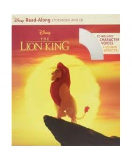 Lion King Read Along Storybook And Cd