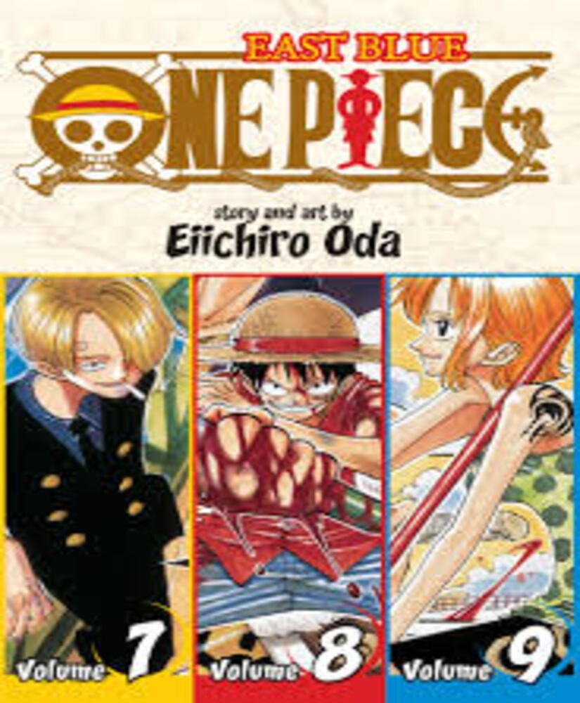 One Piece East Blue 7 8 9 Vol 3 Omnib