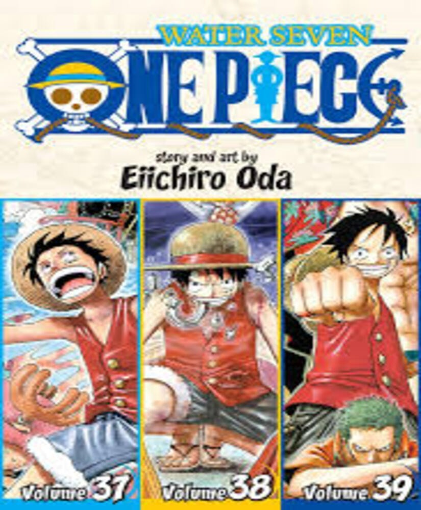 One Piece Water Seven 37 38 39 Vol 13