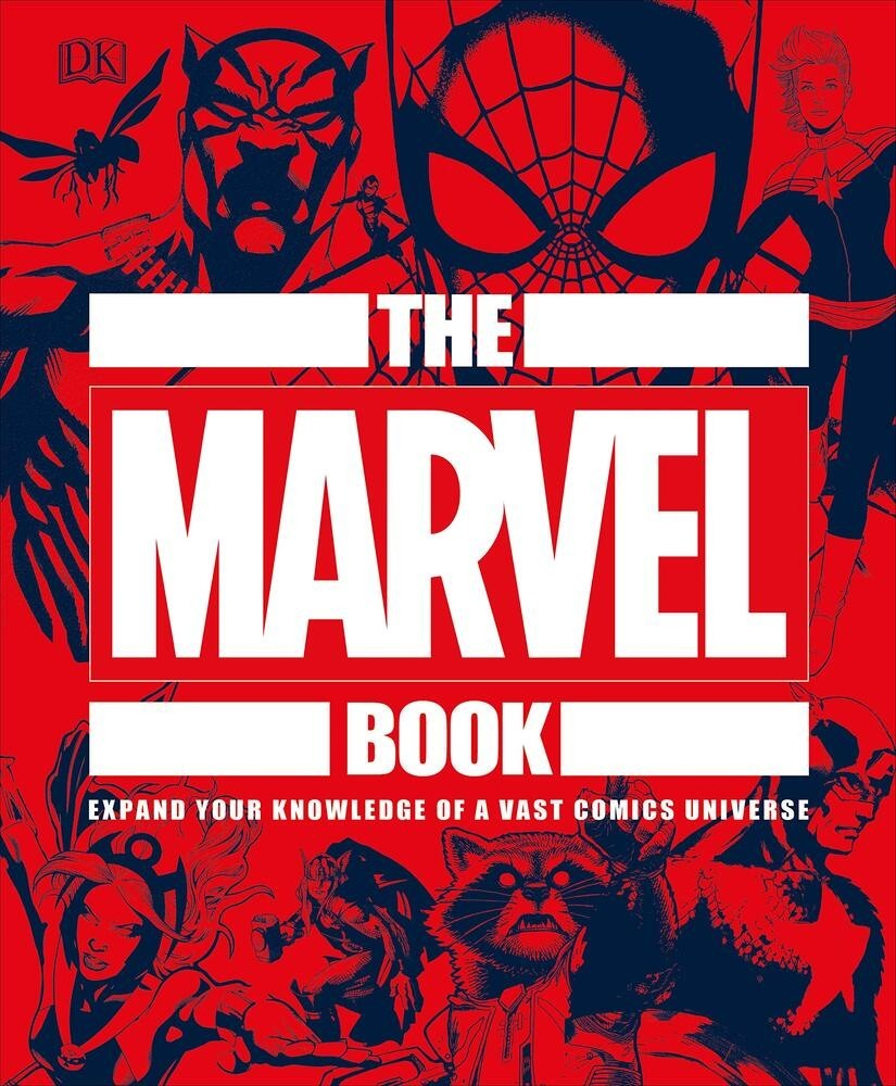 The Marvel Book Expand Your Knowledge Of