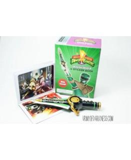 Mighty Morphin Power Rangers Dragon Dagger and Sticker Book: With Sound! (RP Minis)